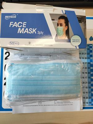 deteção de 1.920.000 máscara de proteção individual